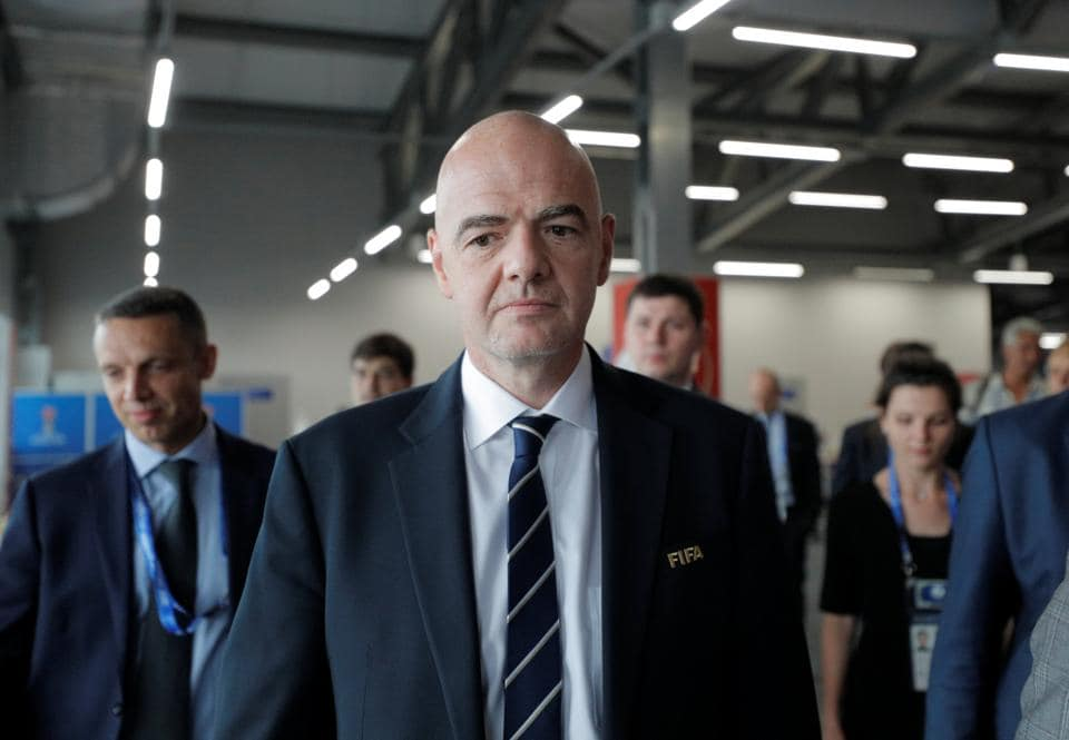 Gianni Infantino would rather focus on the football itself and not the future of the FIFAConfederations Cup.