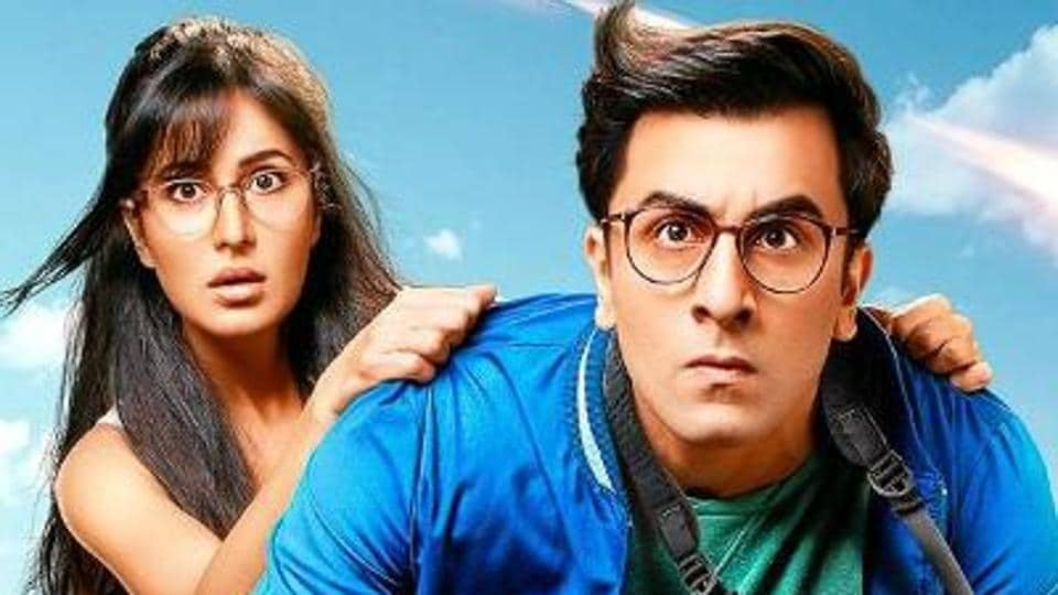 "Actor Katrina Kaif says that actor Ranbir Kapoor is a ""trying and testing person."""