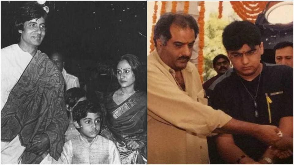 On the occassion of Father's Day, many actors shared throwback photos of their dads.