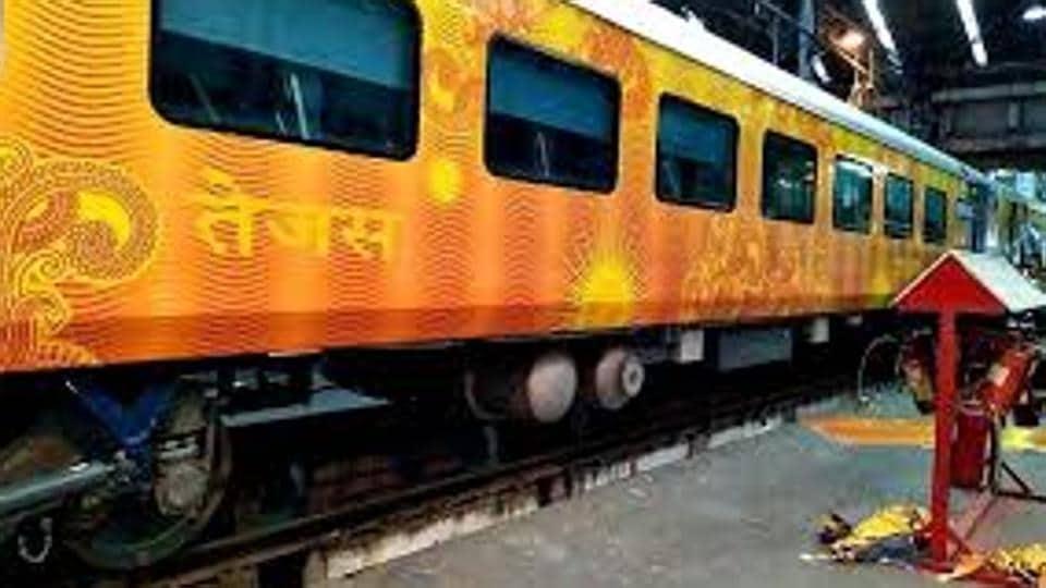 Railway minister Suresh Prabhu flagged of the popular train between Mumbai and Karmali on May  21.
