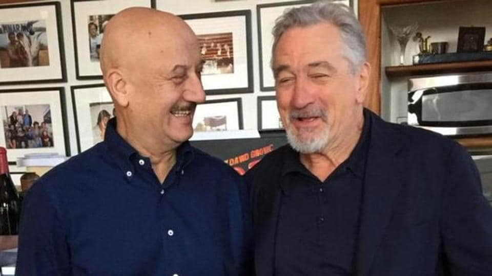 Robert De Niro and Anupam Kher worked together in Silver Linings Playbook.