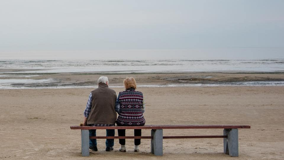 An old couple on the beach. (Photo is for representational purposes only)