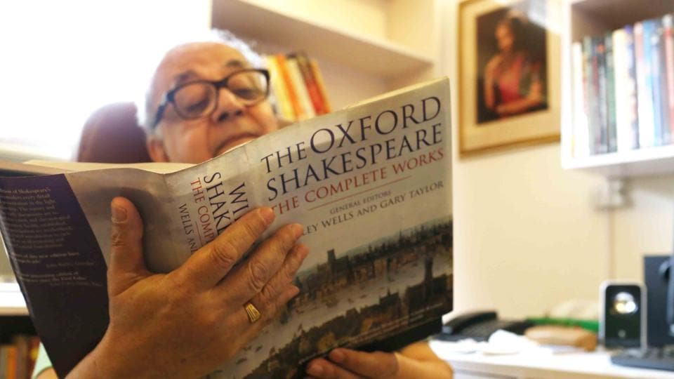 Bhaskar Ghose first read the entire Shakespeare collection during his holidays in the hill town of Nainital. He was just 17. He is now in his 70s and Shakespeare is still a passion.