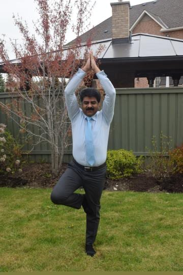 Businessman Satish Thakkar, who is chair of the non-profit that will organise the June 24 event in Canada related to International Day of Yoga.