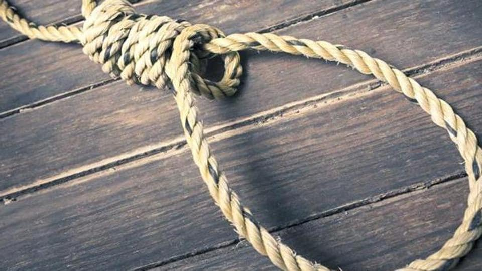 Dr Abhaysingh Maruti Mache was found hanging from the ceiling of their house by his wife.