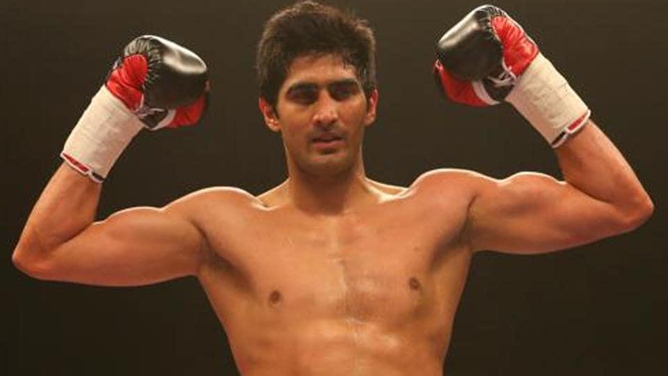 Vijender Singh,Zulpikar Maimaitiali,WBO Asia Pacific Super middleweight champion