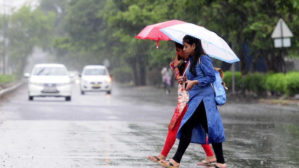 Chandigarh,Rainfall,Haryana