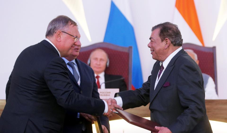 Rosneft,Dharmendra Pradhan,Essar Oil