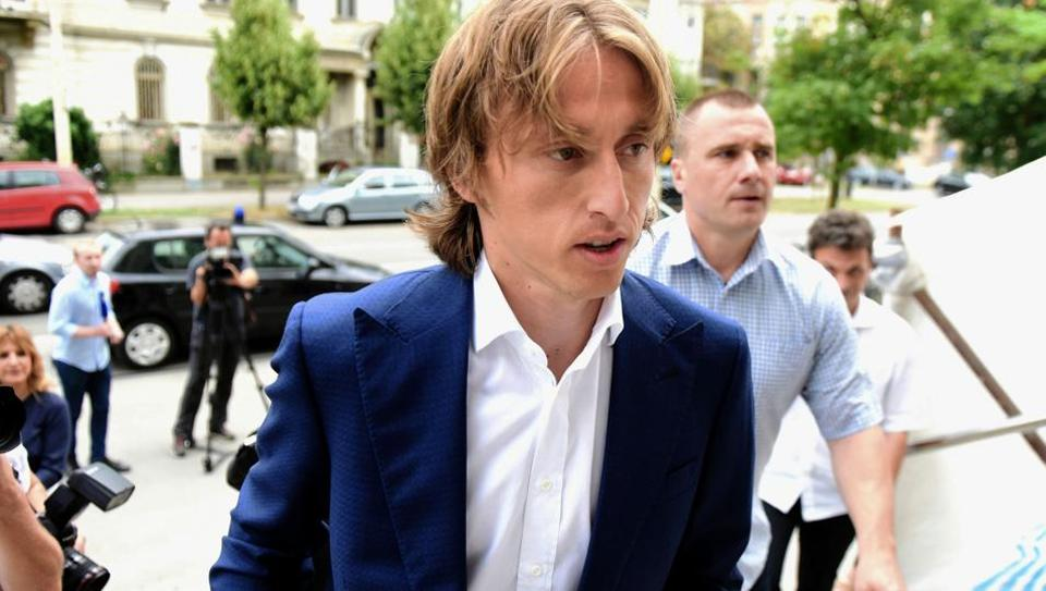 Croatia investigates Real Madrid's Modric for alleged false testimony