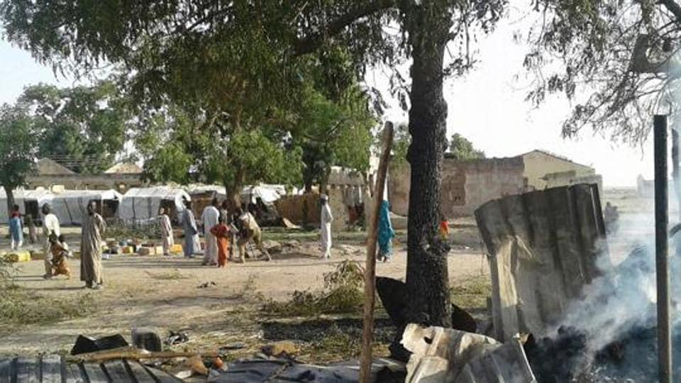 Suicide bombers,Nigeria,Camp