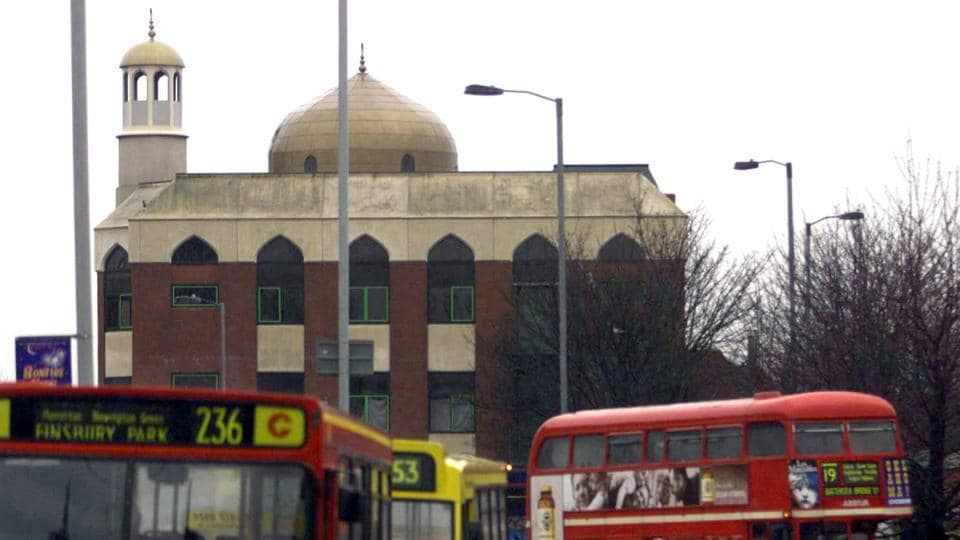 A file photo of the Mosque in Finsbury Park, London. (REUTERS)
