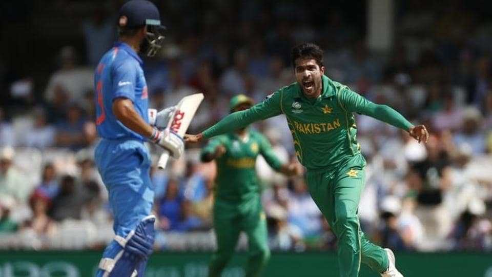 Mohammad Amir picked the wickets of Rohit Sharma, Virat Kohli and Shikhar Dhawan in  the India vs Pakistan ICCChampions Trophy 2017 final.