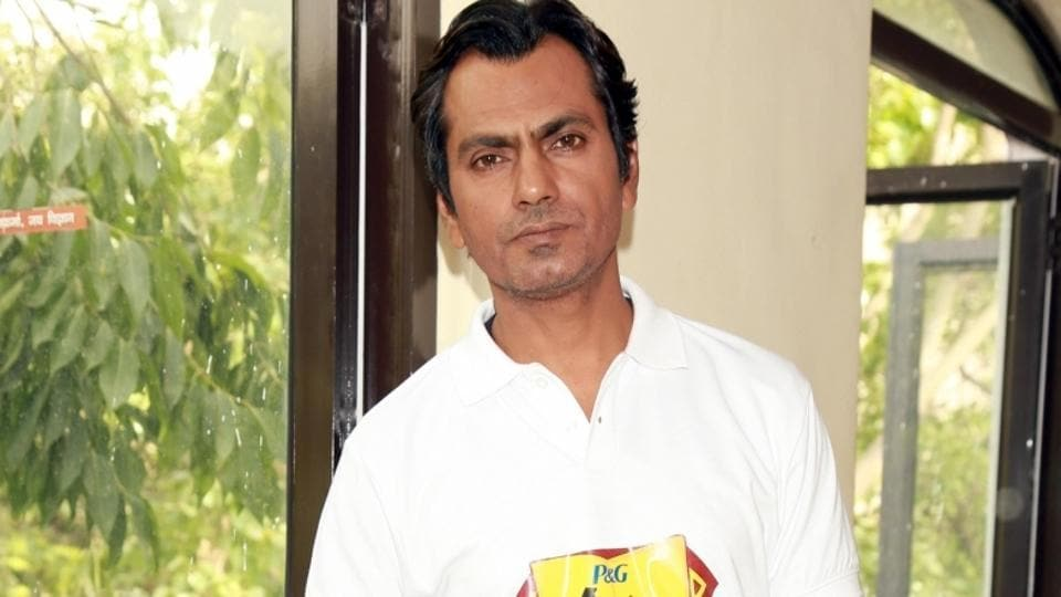 Actor Nawazuddin Siddiqui during a P&G Shiksha programme in New Delhi on June 15.