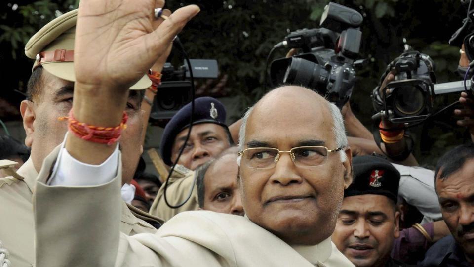 Modi's ruling BJP backs low-caste leader for president of India