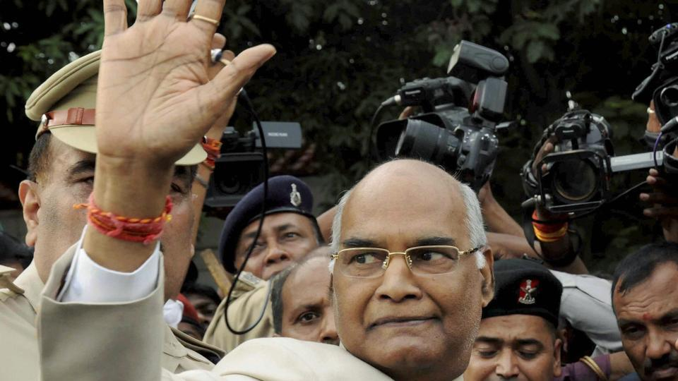 Bihar governor Ram Nath Kovind.