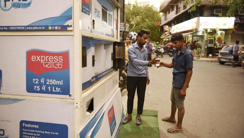 Water ATM,Defence colony,SDMC