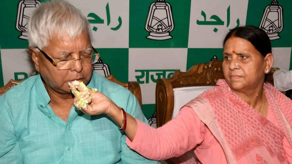 Documents related to the properties held by Lalu Prasad (left), Rabri Devi (right) and other family members will be handed over to investigating agencies by July 15, said BJP leader Sushil Modi in Patna on Tuesday.