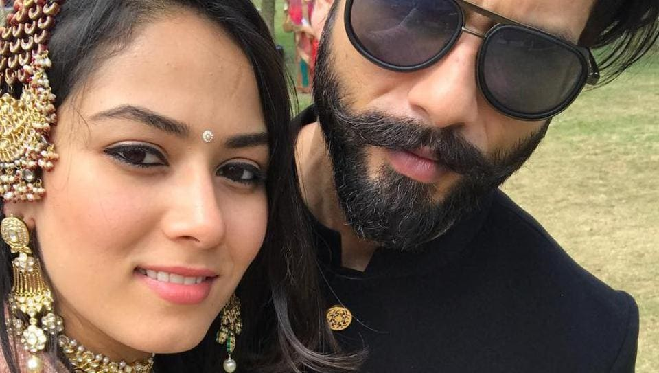 Shahid and Mira make a gorgeous couple.