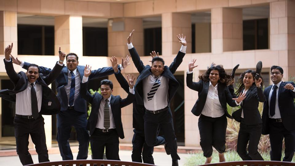 PGP students, class of 2017, from the Indian School of Business, Hyderabad and Mohali Campuses, have received 1,113 job offers from Indian and international companies during this year's placements