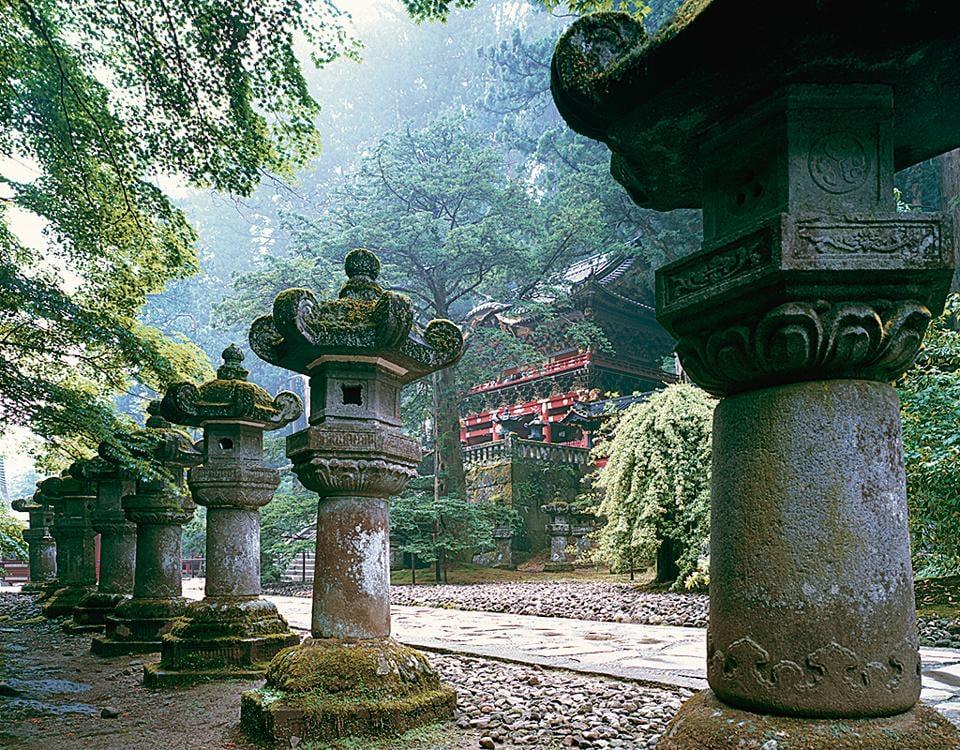 The Nikko Toshogu shrine complex was declared a World Heritage site in 1999