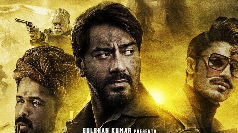 Ajay Devgn on the poster of Baadshaho.
