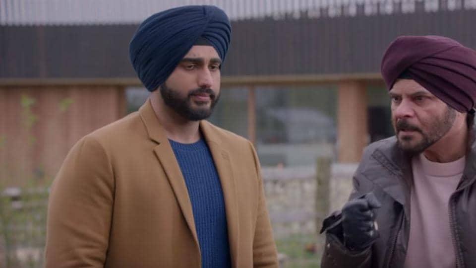 Anil Kapoor plays uncle to Arjun in Mubarakan.