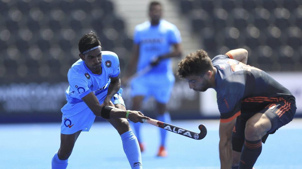 India vs Netherlands,FIH Hockey World League Semifinal,Live Score