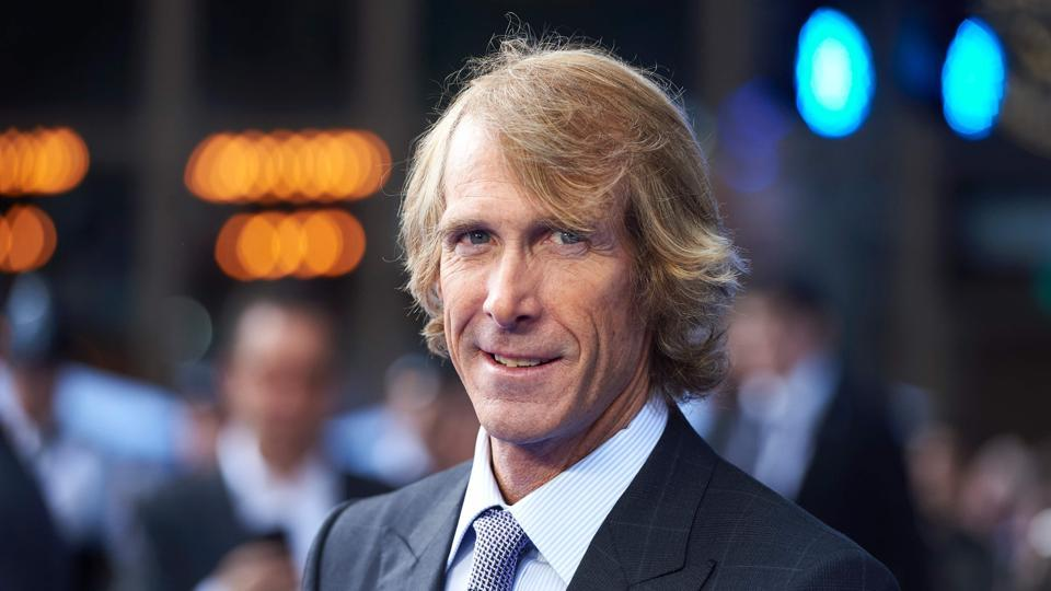 US film director Michael Bay poses upon arrival for the global premiere of the film Transformers: The Last Knight in central London on June 18, 2017.