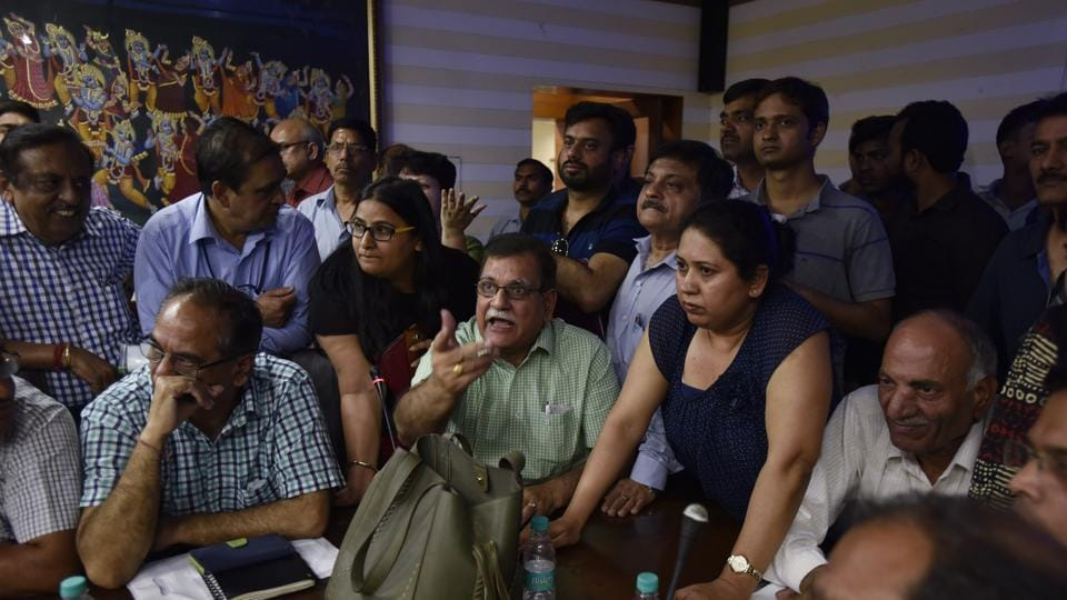 The Noida authority has been holding meetings where buyers air their grievances with the housing projects they have invested in.