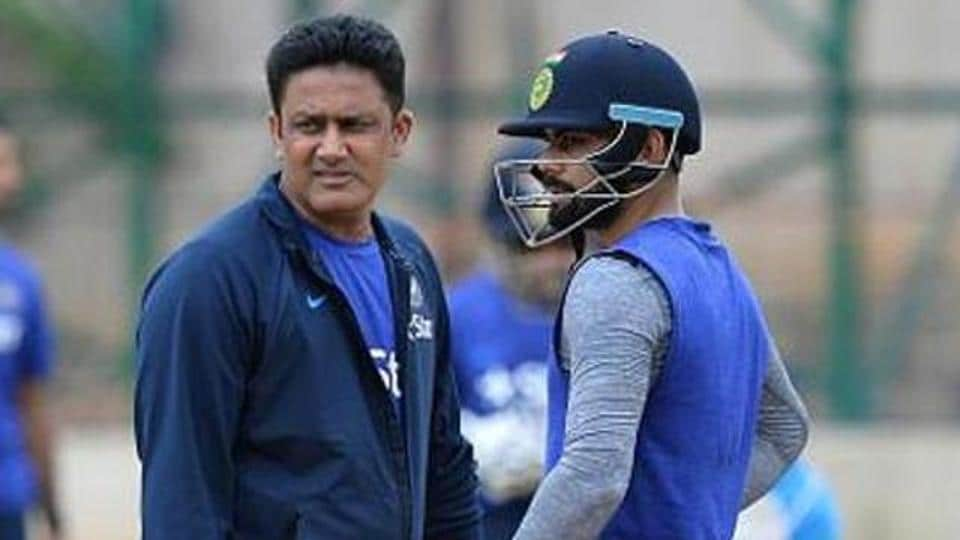 Anil Kumble,Virat Kohli,Indian cricket team