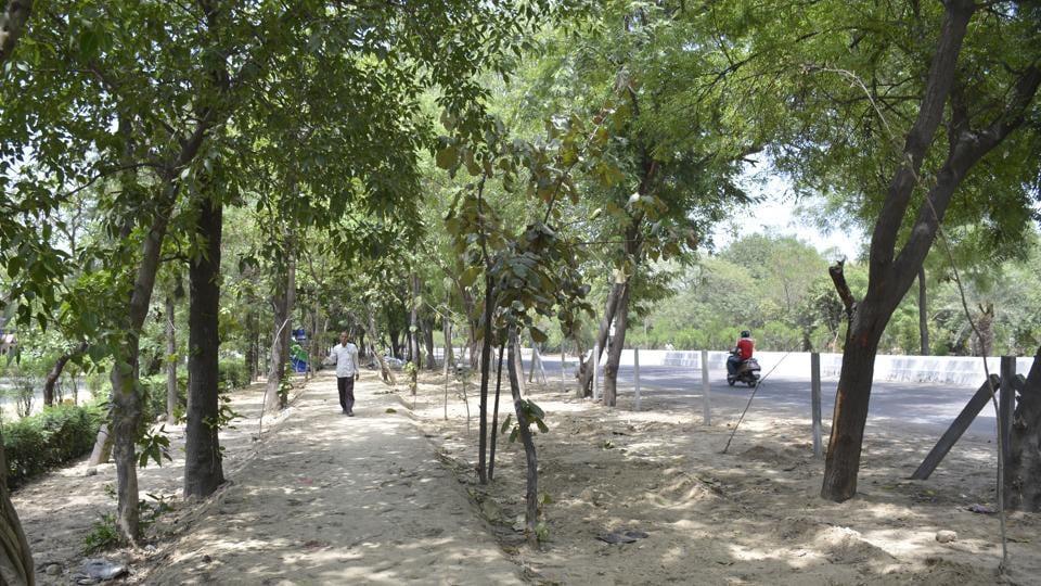 Ghaziabad,GDA,green belt
