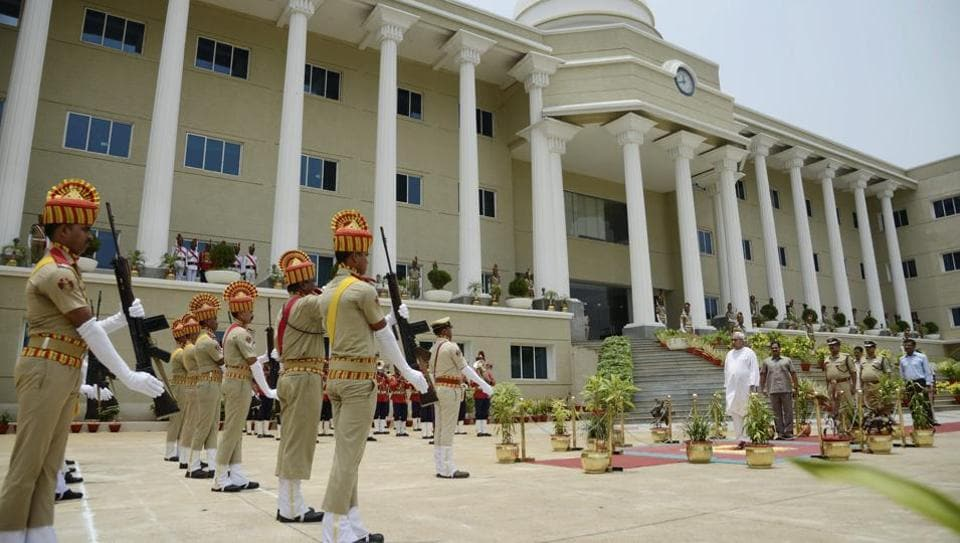 Representative Image | Police personnel at the Commissionerate in Bhubaneswar.