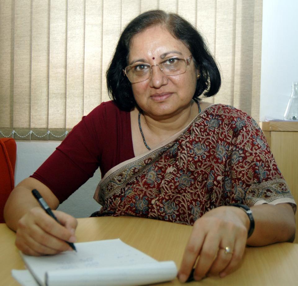 Dr. Pratibha Jolly, Principal, Miranda House College, Delhi University.