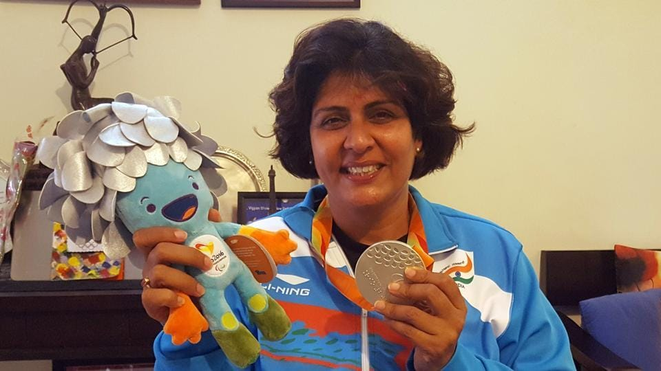 BEST QUALITY AVAILABLE - For Deepa Malik Returns Gurgaon-based home in Silver Oaks Story.