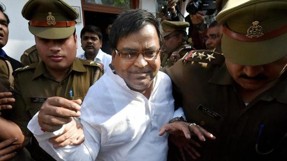 File photo of former Uttar Pradesh minister Gayatri Prajapati