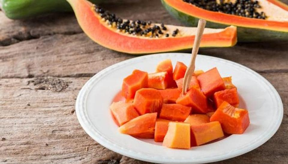 Papaya has a number of health benefits, and is great for skin care.
