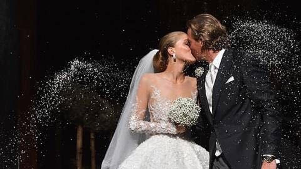 Victoria Swarovski,Wedding,Wedding Dress