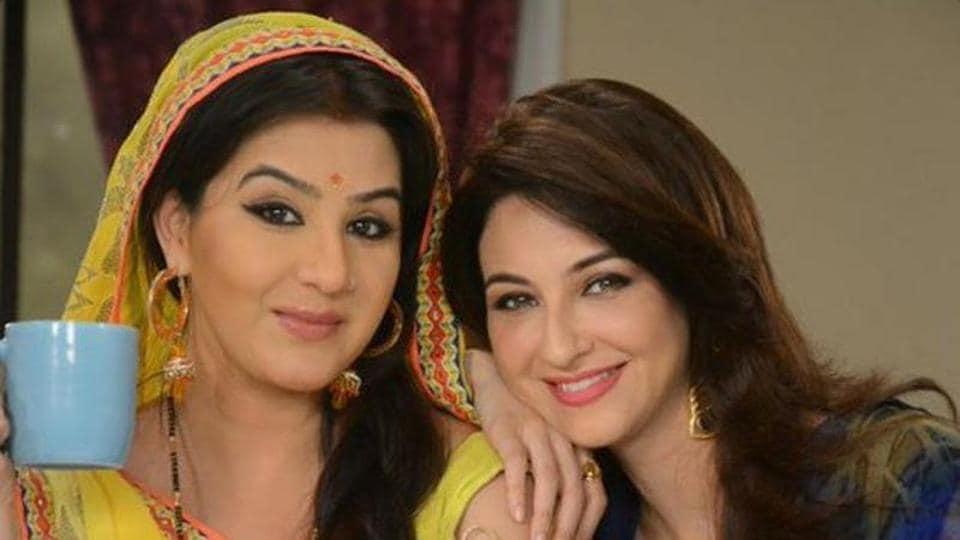 Saumya Tandon,Shilpa Shinde,Bhabhiji Ghar Par Hain