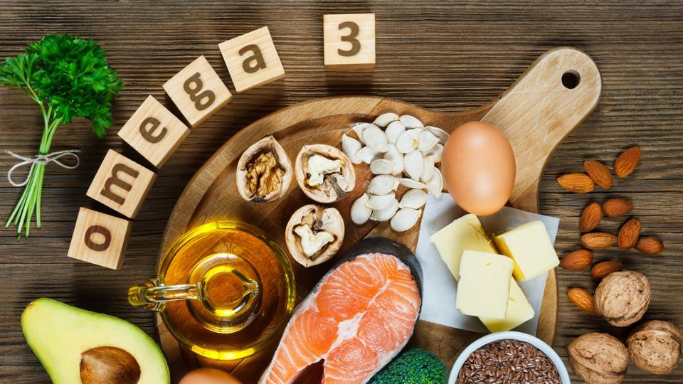 Omega-3 fatty acids cannot be produced by the human body and must be obtained from foods, such as fish, nuts and vegetables.