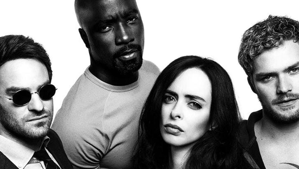 Charlie Cox,Krysten Ritter,Mike Colter