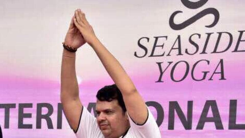 Fadnavis, who presented his guests with saplings, said yoga has the power to help us overcome the challenges and ailments.