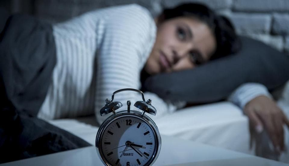 The previous night's bedtime significantly predicted participants' ability to control their obsessive thoughts and compulsive behaviour on the subsequent day.