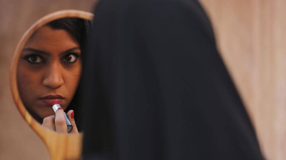Actor Konkona Sen Sharma in a still from Lipstick Under My Burkha.