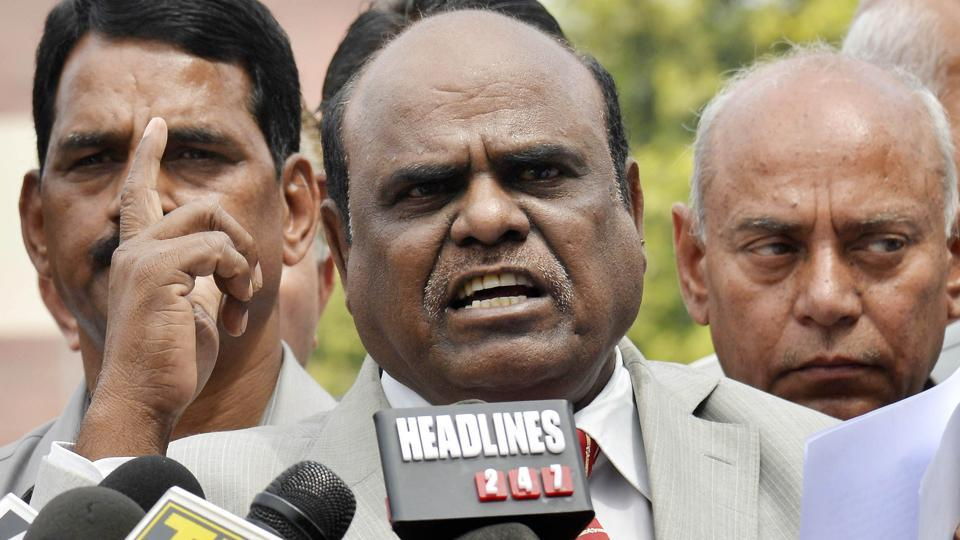 Retired Calcutta high court judge CS Karnan, who had been evading arrest since the May 9 Supreme Court order awarding a six-month jail term, was arrested on Tuesday night.