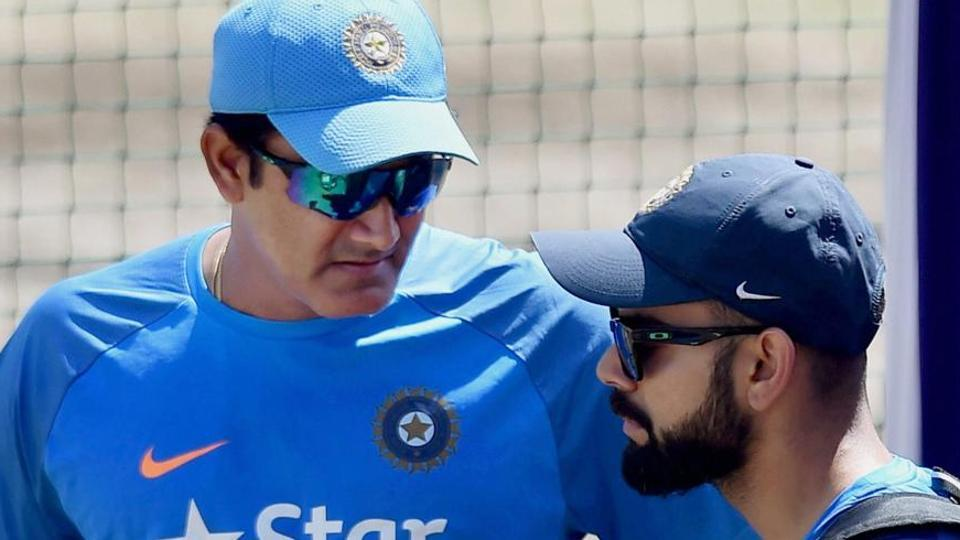 Anil Kumble,Virat Kohli,‪Board of Control for Cricket in India‬‬