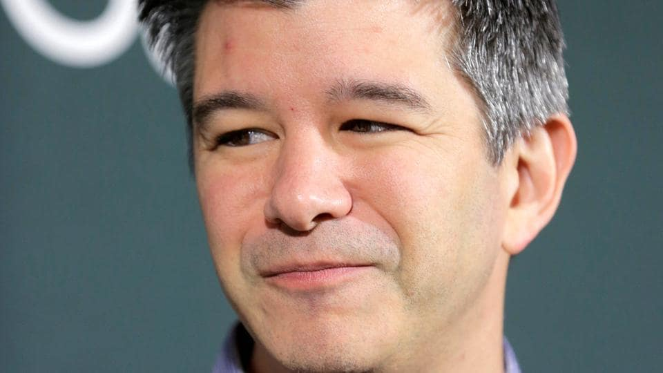 Uber chief executive officer Travis Kalanick.
