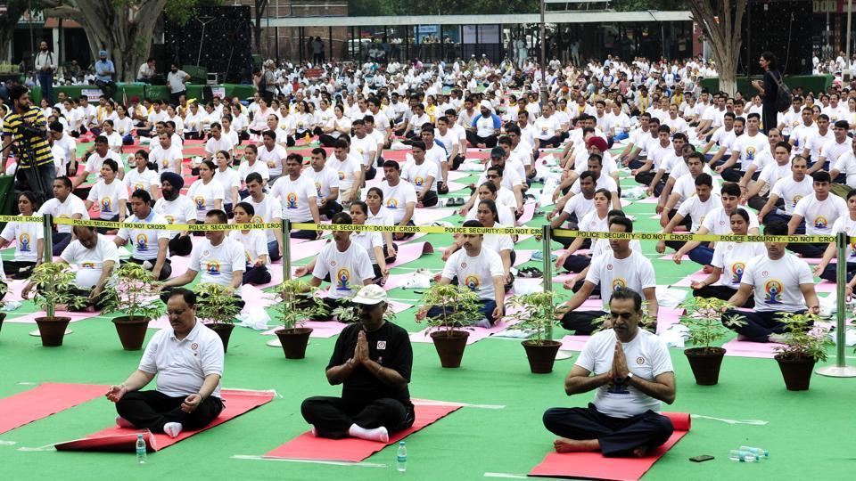 Punjab government,Punjab chief minister captain Amarinder Singh,International Yoga Day
