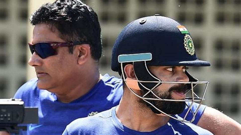Indian cricket team captain Virat Kohli's relationship with coach Anil Kumble soured.