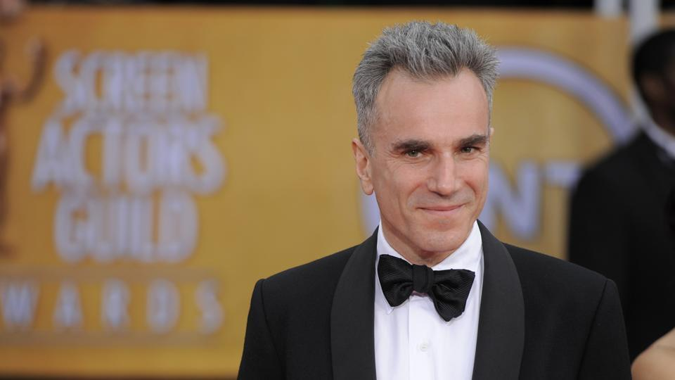 """(File) In this Jan  27, 2013, Daniel Day-Lewis arrives at the 19th Annual Screen Actors Guild Awards in Los Angeles. His representative, Leslee Dart, said in a statement on Tuesday that the 60-year-old performer """"will no longer be working as an actor""""."""