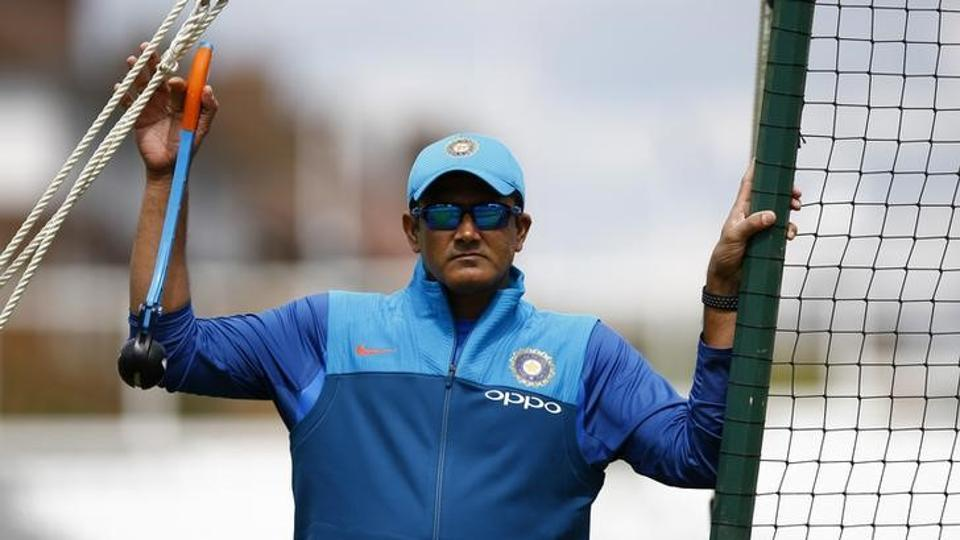 Anil Kumble stepped down as Indian cricket team coach on Tuesday after India lost the ICC Champions Trophy final to Pakistan in London on Sunday.